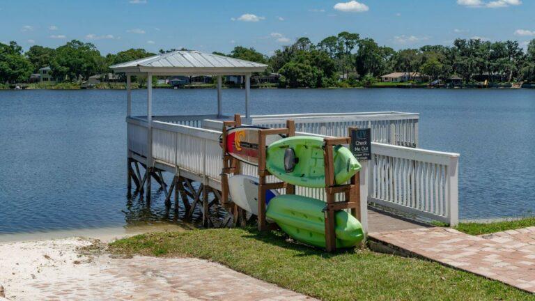Complimentary Kayak rentals