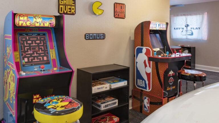 Resident Arcade Center
